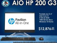 ALL IN ONE HP 200 G3 - Computadoras